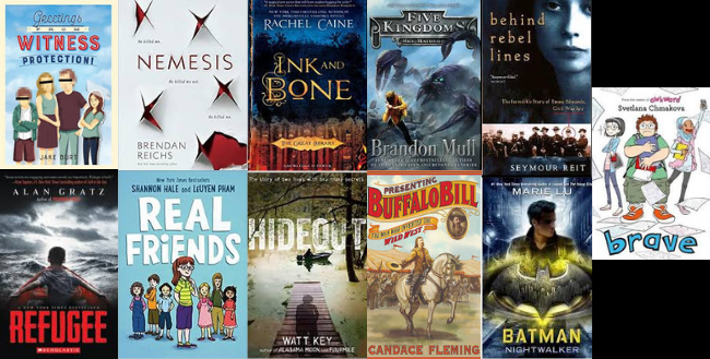 Battle of the Books covers