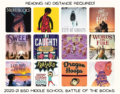 2020-21 Battle of the Books