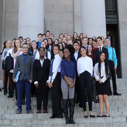 Agents of change: BHS students lobby lawmakers in Olympia