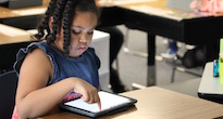 District's iPad program earns praise from Apple