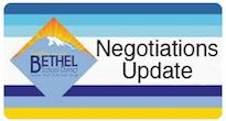 This is a rectangular box that reads negotiations update