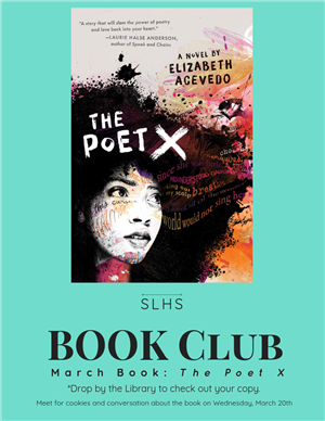 SLHS Book Club March