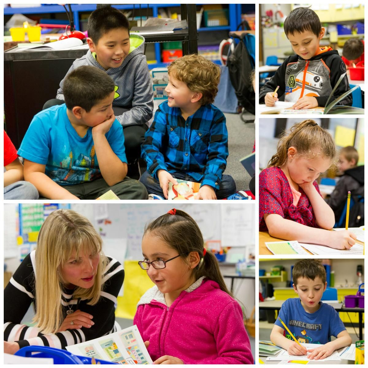 Students at Rocky Ridge Elementary are benefitting from Bethel's new ELA curriculum