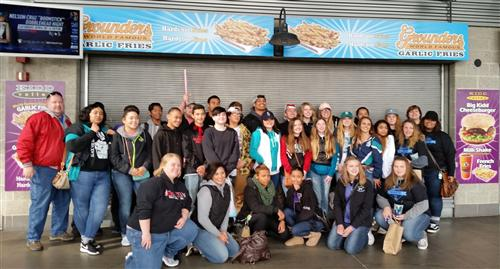 Bethel DECA at Safeco